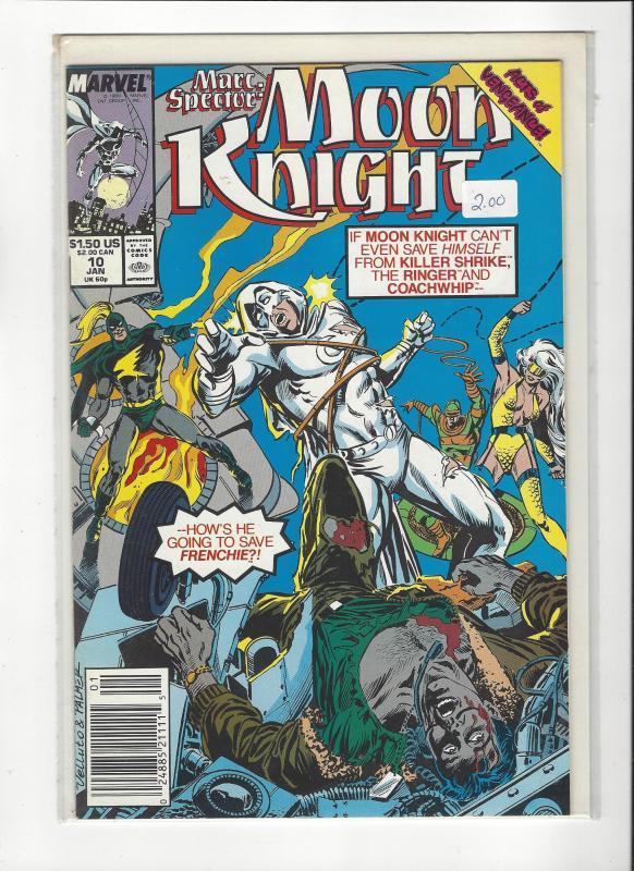 Marc Spector: Moon Knight #10 Killer Shrike. NM