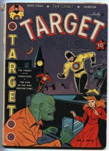 Target Vol 2 #5 TARGET Space Hawk by Basil Wolverton 1941 Golden Age