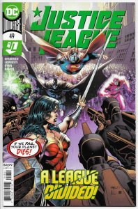 Justice League #49 Main Cvr (DC, 2020) NM