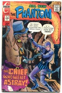 THE PHANTOM #56 1973-CHARLTON COMICS-BAT COVER FR/G