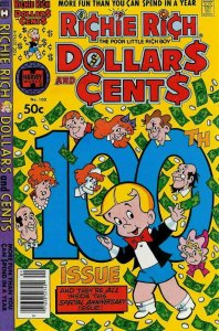 Richie Rich Dollars & Cents #100 VG; Harvey | low grade comic - save on shipping