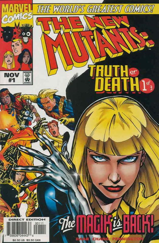 New Mutants, The: Truth or Death #1 VF/NM; Marvel | save on shipping - details i