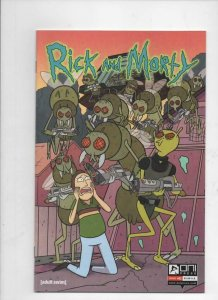 RICK and MORTY #1 50th issue, 1st, VF/NM, Grandpa, Oni Press, from Cartoon 2019