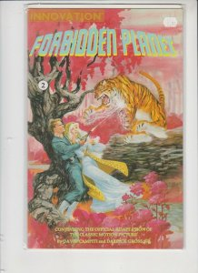 FORBIDDEN PLANET #2 1991 INNOVATION COMICS / HIGH QUALITY
