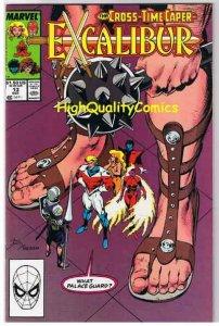 EXCALIBUR #13, NM, Phoenix, Captain Britain,1988 1989, more Marvel in store