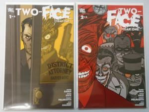 Two-Face Year One, Set:#1+2, Average 8.0/VF (2008)