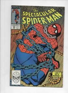 Peter Parker SPECTACULAR SPIDER-MAN #145 VF/NM Boomerang 1976 1988 more in store