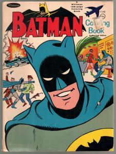 Batman Coloring Book #1140 1966-Whitman-Penguin-128 pages-VG-