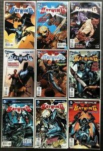Batwing 1 - 9 New 52 Straight Run DC Comics 2011 Series NM