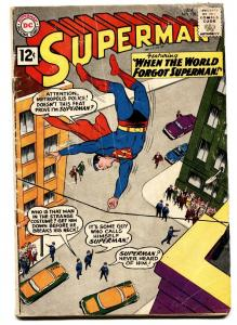 SUPERMAN -#150-comic book 1962-DC-SUPERGIRL-good