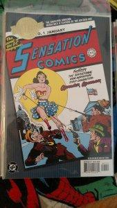 MILLENNIUM EDITION: SENSATION COMICS NO. 1 #1 (DC 2000) NT/MT
