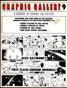 Graphic Gallery Original Art For Sale Catalog #9 1976-Frazetta-Chic Young-VG