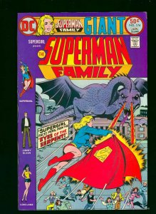 Superman Family #174 VF+ 8.5 White Pages