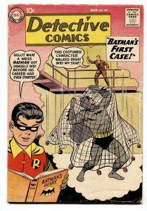 DETECTIVE COMICS #265 Batman Origin issue-comic book 1959 VG