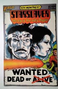 Starslayer #8 (1983) First Comic Book J756
