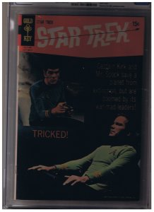 Star Trek Series 1 Gold Key Issue #5 CGC 7.0