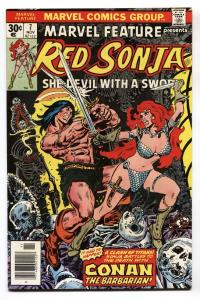 Marvel Feature #7 1975-MARVEL-Red Sonja vs. Conan