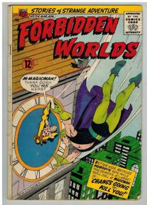 FORBIDDEN WORLDS 134 FR-G March-April 1966
