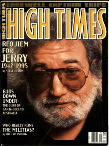 High Times 11/1995-Requiem For Jerry Garcia-Grateful Dead-VG/FN