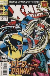 Marvel X-MEN ADVENTURES Season II (1994 Series) #4 VF/NM