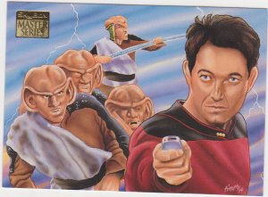 1993 Skybox Star Trek Master Series #88 Last Outpost