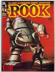 ROOK (1979-1982 WARREN) 8 FN LARKIN CVR; BERMEJO(ROO COMICS BOOK