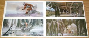 Star Wars: the Empire Strikes Back Portfolio by Ralph McQuarrie (24 plates) 1980