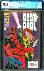 Deadpool #3 CGC Graded 9.8