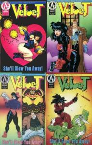 VELVET (1993 ADVENTURE) 1-4 Chritton & Runyan COMPLETE!