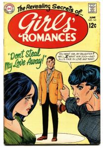 GIRLS' ROMANCES #141-D.C. ROMANCE-SILVER AGE Dont Steal My Love Away