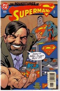 Adventures of Superman   vol. 1   #613 VF