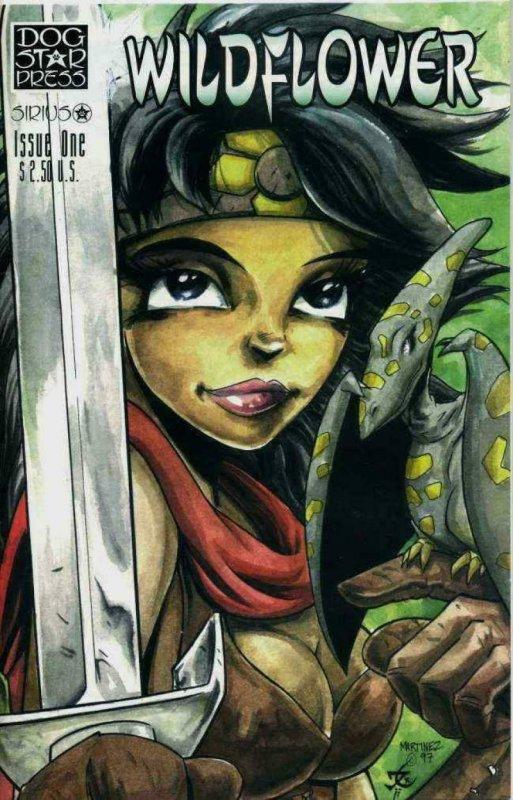 WILDFLOWER #1, NM, Dark One, Martinez, Sirius Comics 1998 more in store