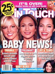 In Touch Weekly  5/29/2006-Britney-J-Lo-Angelina-David Spade-FN/VF