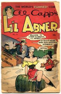 Li'l Abner #73 1949- Slobbovia- Golden Age Low Grade FAIR