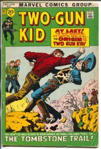 Two-Gun Kid  #101 1971-Marvel-John Severin-Jack Kirby-origin story-VG