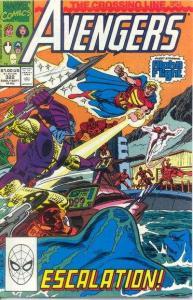 Avengers (1963 series) #322, NM- (Stock photo)