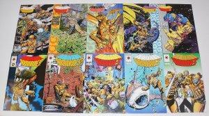 Armorines #0 & 1-12 VF/NM complete series - valiant comics set lot