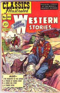 Classics Illustrated #62 (Aug-49) VG+ Affordable-Grade