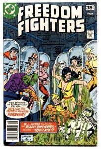 Freedom Fighters #15-1978-Origin of the PHANTOM LADY-DC