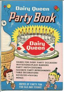 Dairy Queen Party Book 1960-ice cream cone-games-puzzles-VF