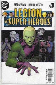 Legion of Super-Heroes (vol. 5, 2005) # 1 VF/NM Waid/Kitson