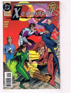 Xenobrood #0 VF DC Comics Modern Age Comic Book Moench Oct 1994 DE47 AD33