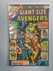 Giant Size Avengers #5 5.0 VG FN (1975)
