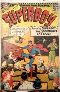 Superboy #134 (DC 1966) VG