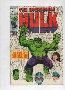 HULK #116, VG+, Bruce Banner, Leader, Trimpe, Radiation, more Hulk in store