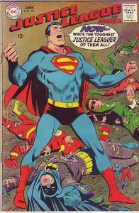 Justice League of America #63 (Jun-68) VG/FN Mid-Grade Justice League of Amer...