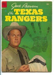 Jace Pearson of the Texas Rangers #6 1954- Joel McCRea photo cover-high grade...