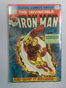 Iron Man #71 (1974 1st Series) 4.0/VG