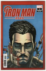 Iron Man 2020 #1 Superlog Heads Variant (Marvel, 2020) NM