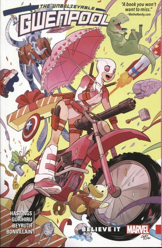 Unbelievable Gwenpool, The TPB #1 VF/NM; Marvel | save on shipping - details ins